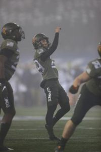 Hawaii kicker answers early call in the Army-Navy Game at West Point