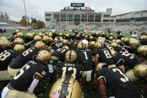 Army's football players learn during turbulent year there is always more awareness to discover