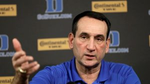 Krzyzewski calls for college basketball to reassess playing games during COVID-19 outbreaks