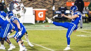 Duke's lost football season giving way to basketball's late start