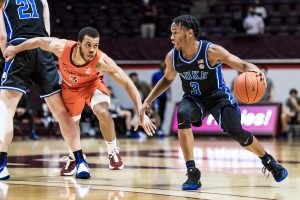 Duke was not the more mature ACC team at Virginia Tech