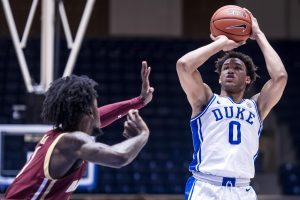 Wendell Moore steps up on and off the court to lift Duke