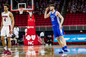 Instead of the feeling outside pressure, Duke applied it to N.C. State