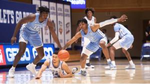 Typical North Carolina-Duke game in an atypical season