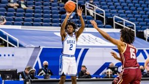 Duke and Coach K enjoy rare familial chance to empty the bench