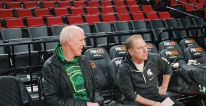 Izzo wants to know what Bill Walton would say now that Michigan State and UCLA have met their matches