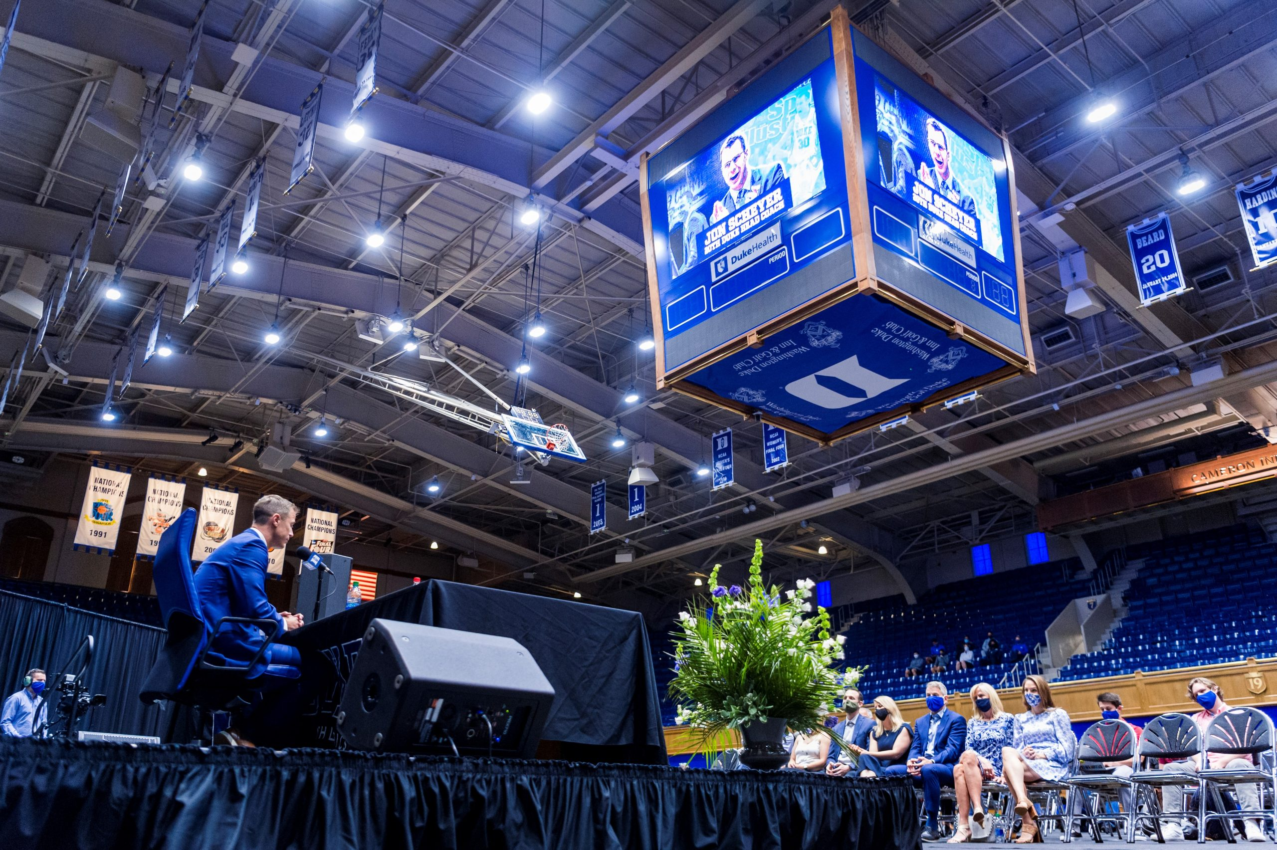 Scheyer spells out as Duke coach ready to face the future