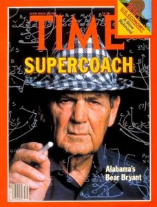 """Part IV: The """"Time"""" face that launched a thousand Bear Bryant myths"""