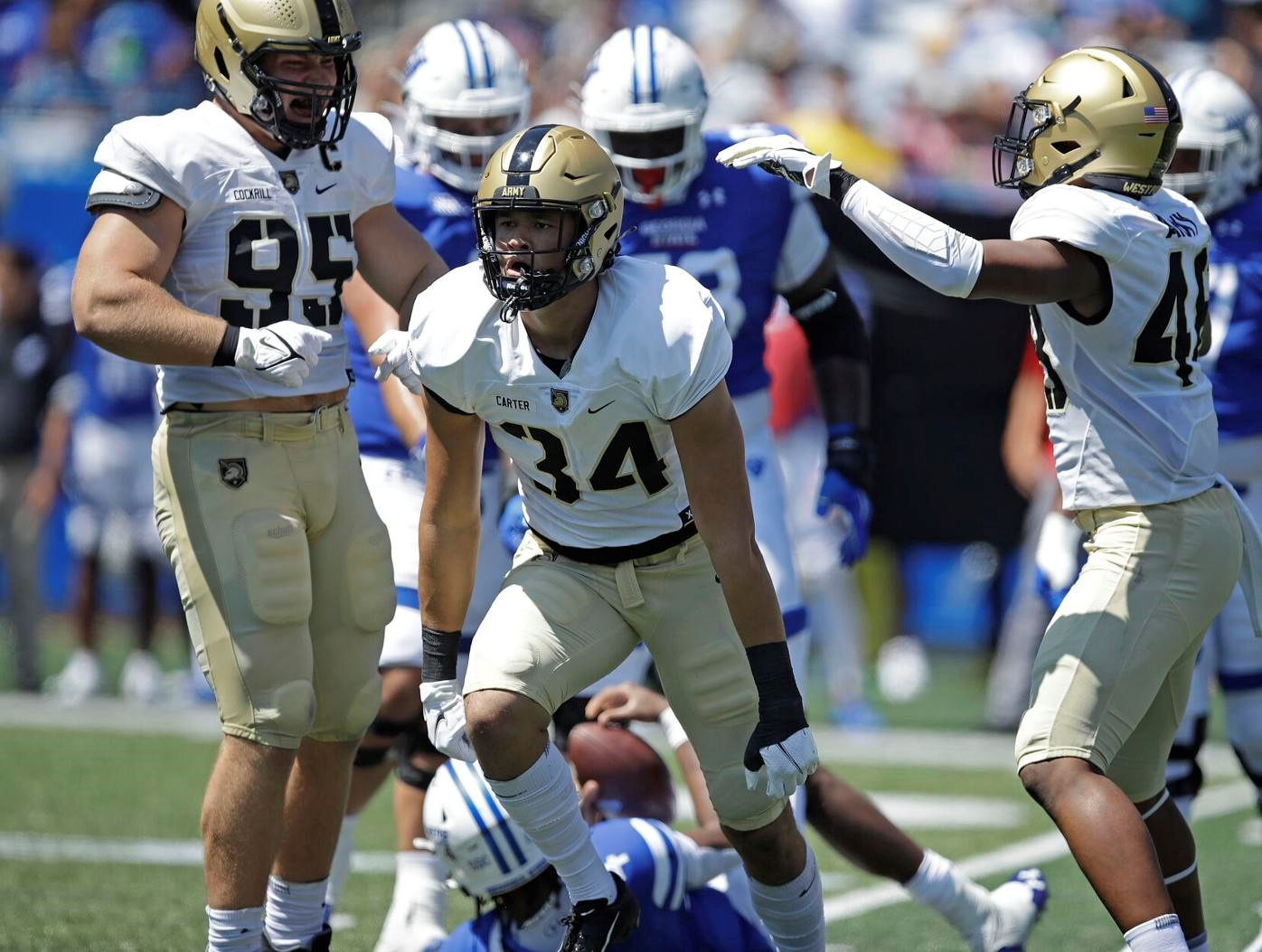 Army recruiting benefits from upside of 6-7 Andre Carter II